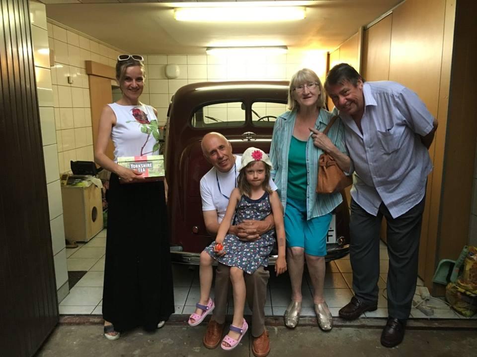 Mandy and John's visit to Lodz